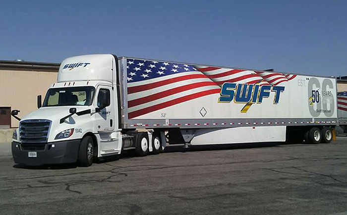 swift flatbed
